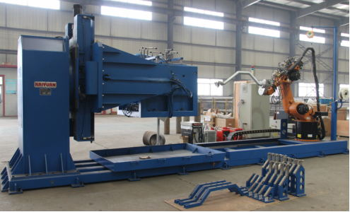 HengTong Pipeline Introduced Automatic Surface Welding Robot